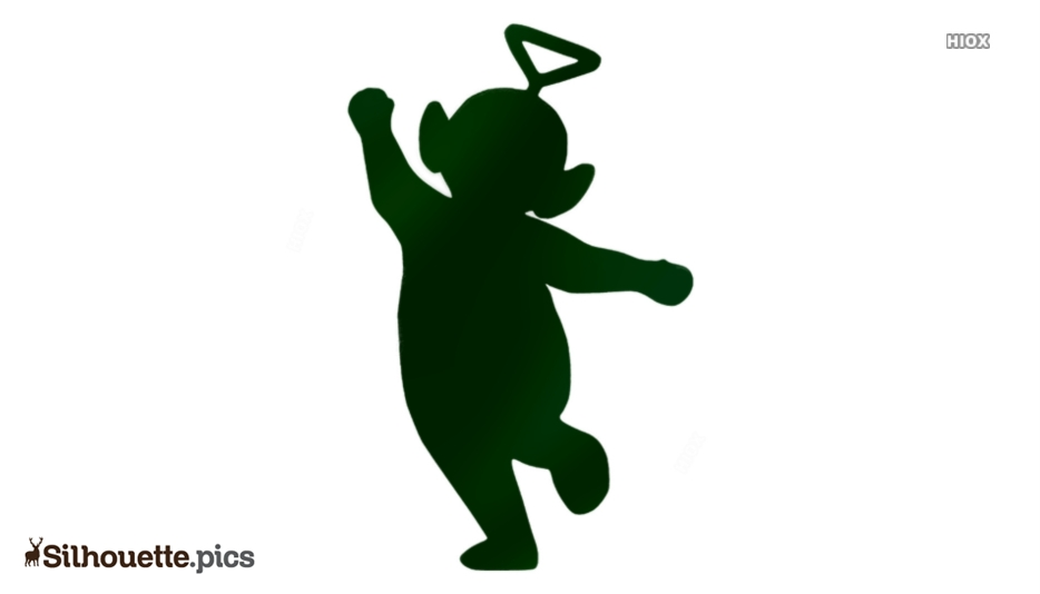 Teletubbies Character Silhouette Clipart