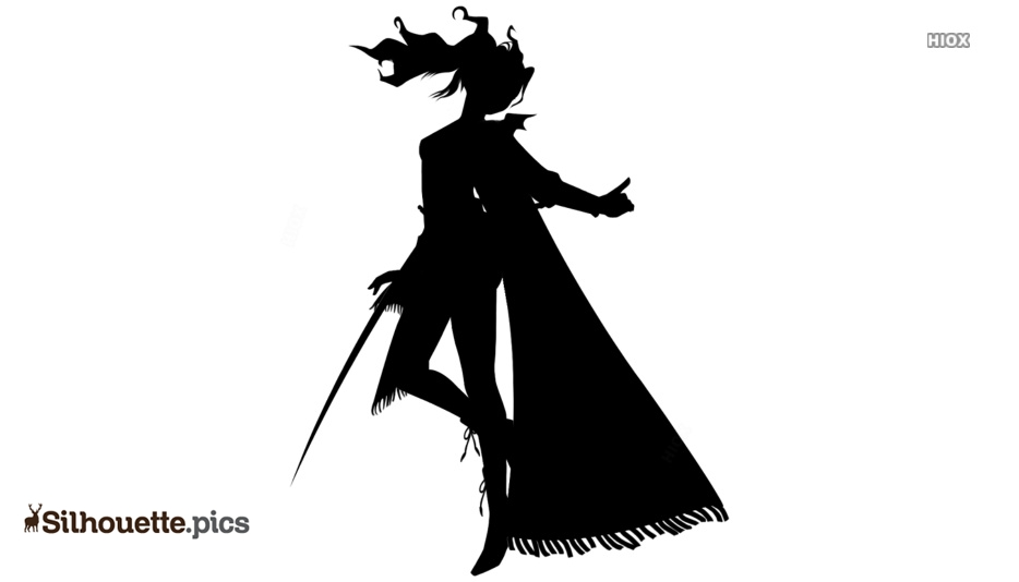 Fictional Character Vector Silhouette Images