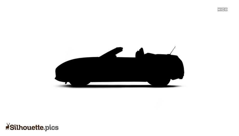 Tesla Roadster Silhouette Image