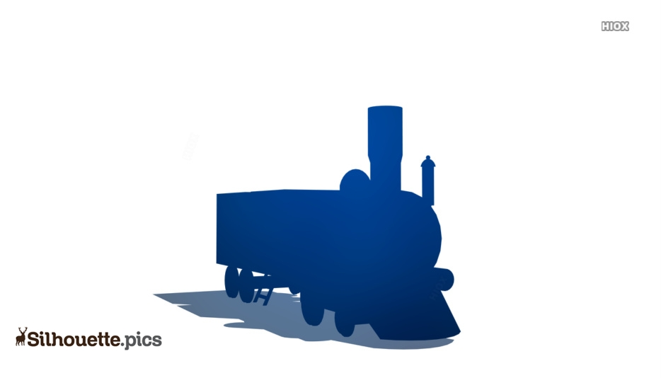 The Railways Silhouette Images