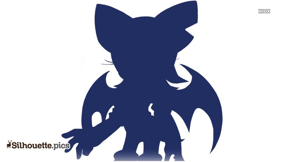 Vampire Bat Silhouette Images, Pics