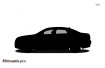 Audi A6 Silhouette Free Vector Art
