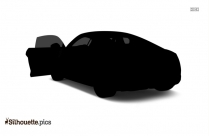 Audi A7 Silhouette Vector