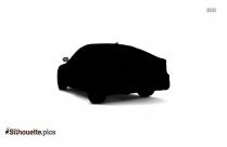 Lamborghini Car Symbol Silhouette