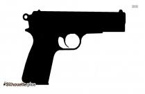 9mm Pistol Silhouette