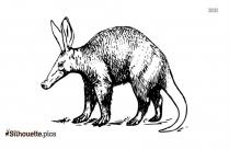 Aardvark Drawing Clipart Silhouette
