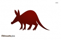Aardvark Silhouette Image And Vector