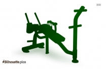 Ab Cruncher Silhouette Clipart
