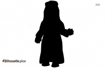 Sitting Mickey Mouse Clip Art Silhouette