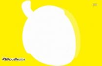 Acorn Vector Clipart Silhouette