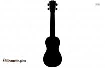 Guitar Symbol Silhouette