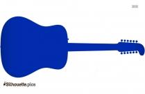 Acoustic Guitar Silhouette Free Vector Art