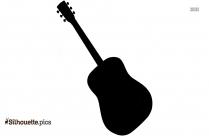 Black And White Cello Silhouette Vector