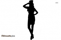 Fashion Flapper Costume Silhouette
