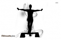 Aerobics PNG Silhouette