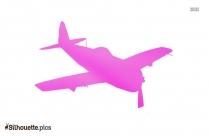 Aeroplane Silhouette Drawing