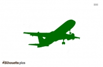 Airplane Silhouette Picture Illustration
