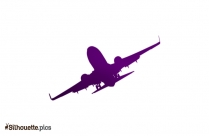 Plane Silhouette Vector And Graphics