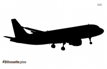 Free Aeroplane Silhouette Vector Art