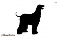 English Foxhound Dog Breed Silhouette