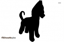 Shiba Inu Dog Clip Art Silhouette