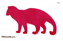 African Civet Illustration Silhouette