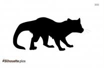 Alaskan Malamute Silhouette Clip Art Image