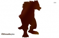 Muskox Vector Silhouette