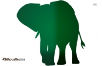 Elephant Background Silhouette