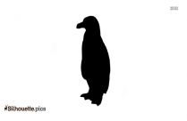 Image Of Adelie Penguin Silhouette