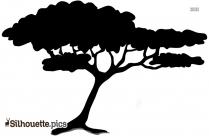 Tree Silhouette Simple