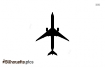 Simple Airplane Silhouette