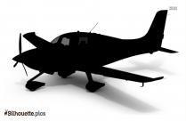 Cartoon Airplane Library Silhouette