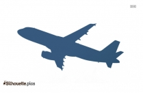 Toy Plane Silhouette Free Vector Art