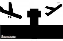 Airplane Transport Silhouette