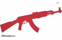 Gun Drawings Silhouette