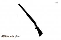 AK47 Rifle Silhouette