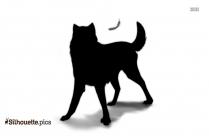 Akita Silhouette Icon
