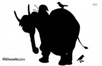 Aladdin Elephant Symbol Silhouette
