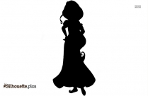 Aladdin Princess Silhouette Icon