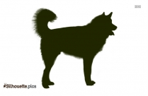 American Pit Bull Terrier Dog Silhouette