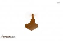 Alexandria Light House Silhouette Vector