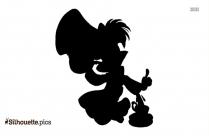 Super Villian Clipart , Loki Silhouette