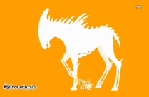 Alien Pony Silhouette Image