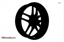 Rubber Wheel Silhouette