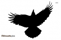 American Crow Silhouette Clip Art