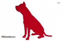 Bloodhound Dog Breed Clipart Image Silhouette