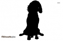 American Cocker Spaniel Dog Breed Image Silhouette