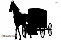 Amish Buggy Vector Clipart Image Free Download