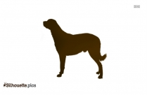 Black Russian Terrier Dog Silhouettes Image